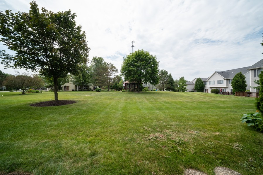 Real Estate Photography - 1091 Castleshire Dr, Woodstock, IL, 60098 - Back Yard
