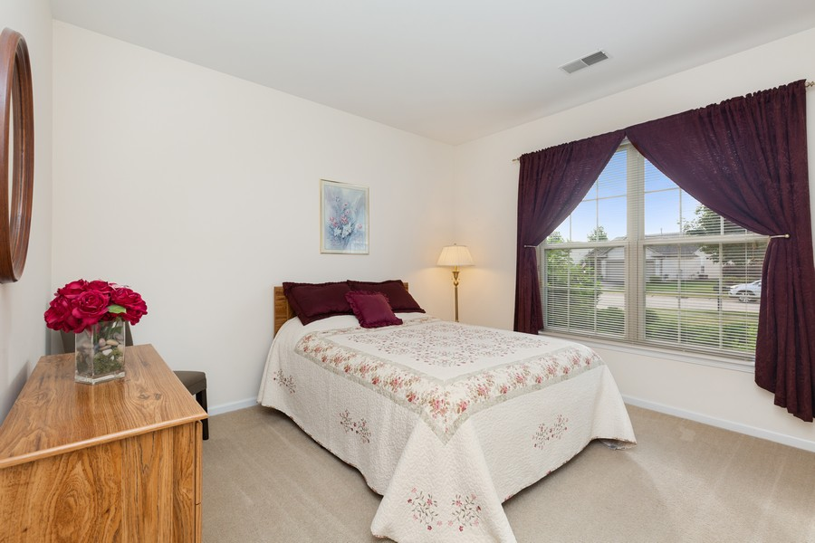 Real Estate Photography - 13013 Dearborn Trail, Huntley, IL, 60142 - 2nd Bedroom
