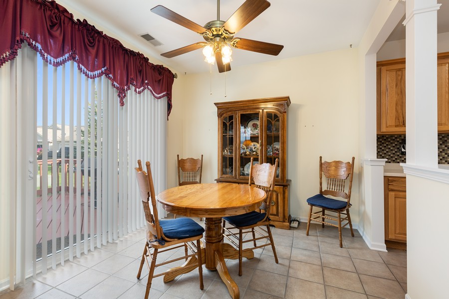 Real Estate Photography - 13013 Dearborn Trail, Huntley, IL, 60142 - Dining Room