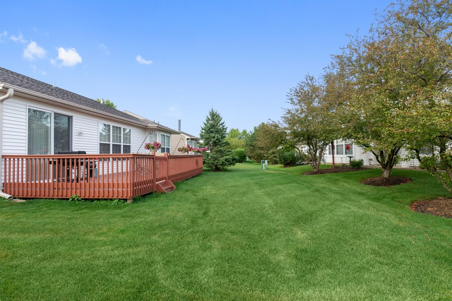 Real Estate Photography - 13013 Dearborn Trail, Huntley, IL, 60142 - Back Yard