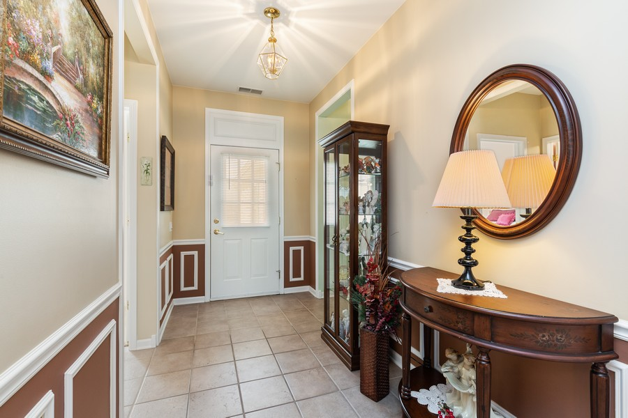 Real Estate Photography - 13013 Dearborn Trail, Huntley, IL, 60142 - Foyer