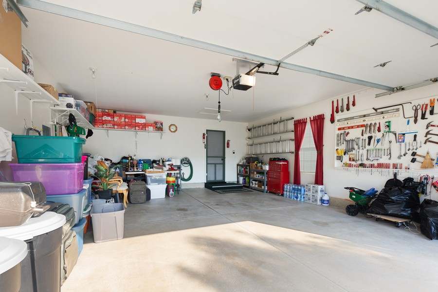 Real Estate Photography - 13013 Dearborn Trail, Huntley, IL, 60142 - Garage