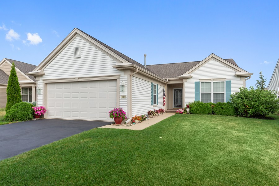 Real Estate Photography - 13013 Dearborn Trail, Huntley, IL, 60142 - Front View