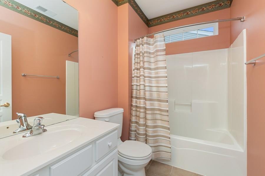 Real Estate Photography - 13013 Dearborn Trail, Huntley, IL, 60142 - Bathroom