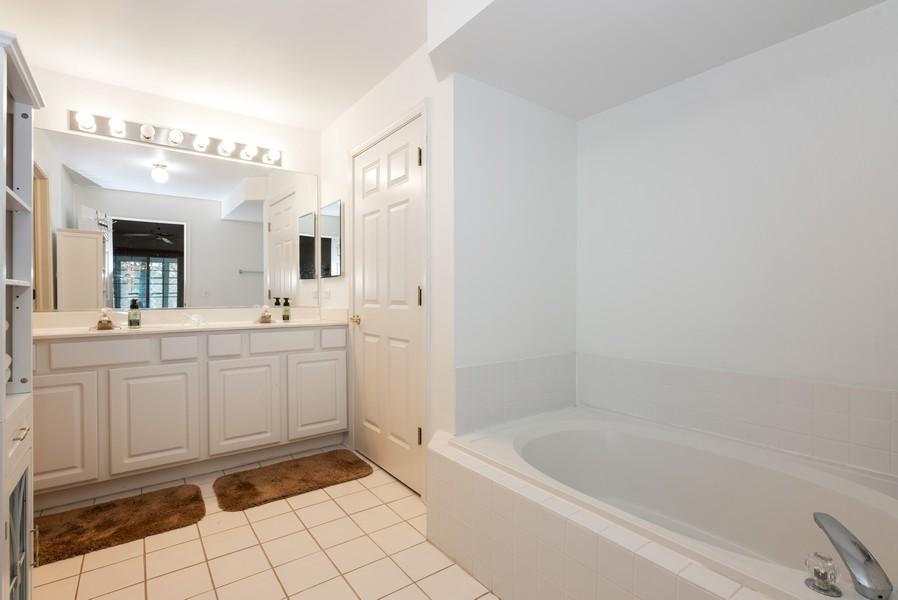 Real Estate Photography - 9518 Lenox Ln, Lakewood, IL, 60014 - Master Bathroom