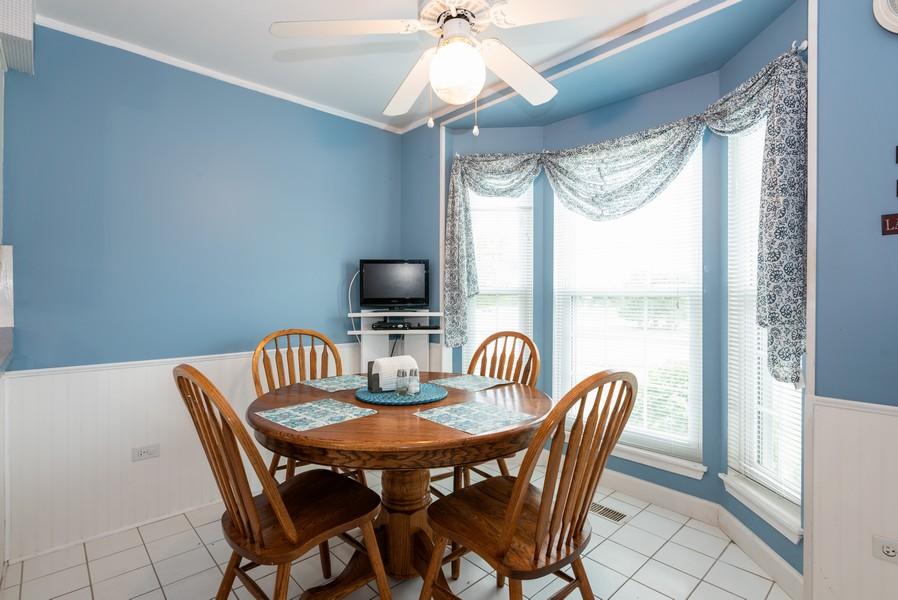 Real Estate Photography - 9518 Lenox Ln, Lakewood, IL, 60014 - Breakfast Area