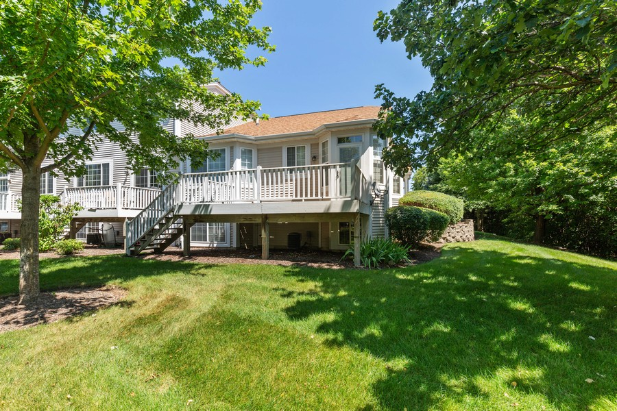 Real Estate Photography - 2943 Talaga Drive, Algonquin, IL, 60102 - Rear View