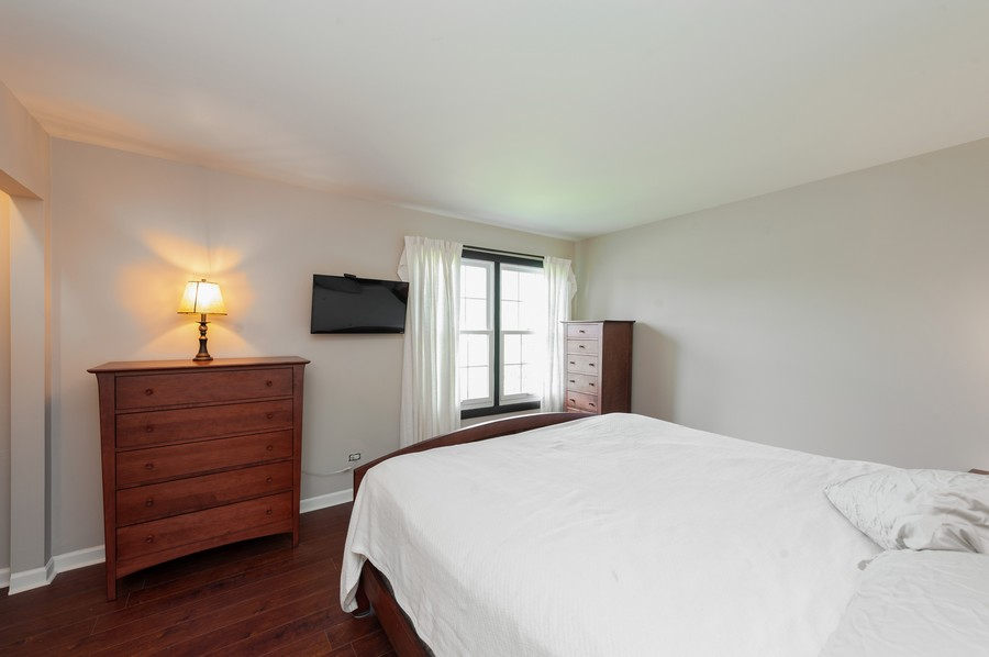 Real Estate Photography - 3345 York, Island Lake, IL, 60042 - Master Bedroom