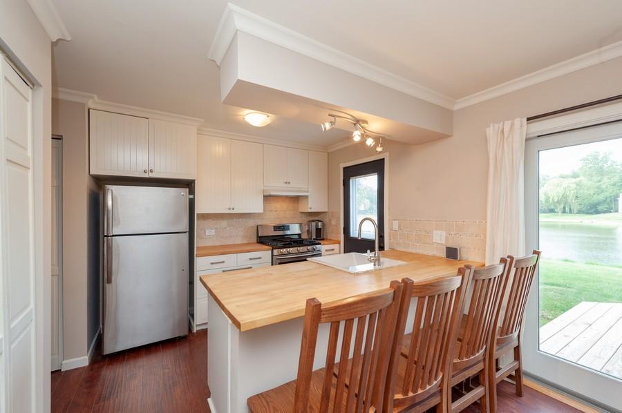 Real Estate Photography - 3345 York, Island Lake, IL, 60042 - Kitchen