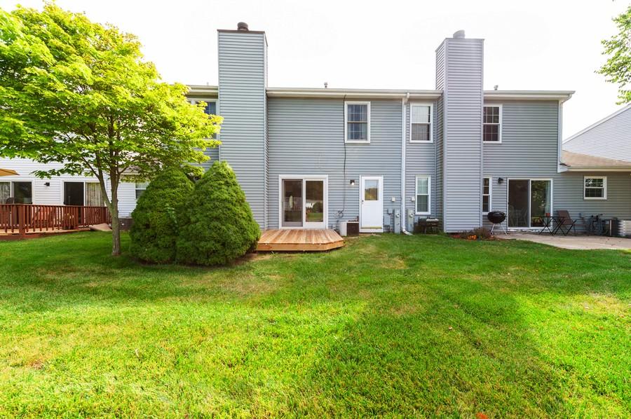 Real Estate Photography - 3345 York, Island Lake, IL, 60042 - Rear View