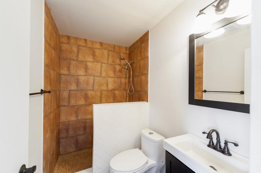 Real Estate Photography - 3345 York, Island Lake, IL, 60042 - Bathroom