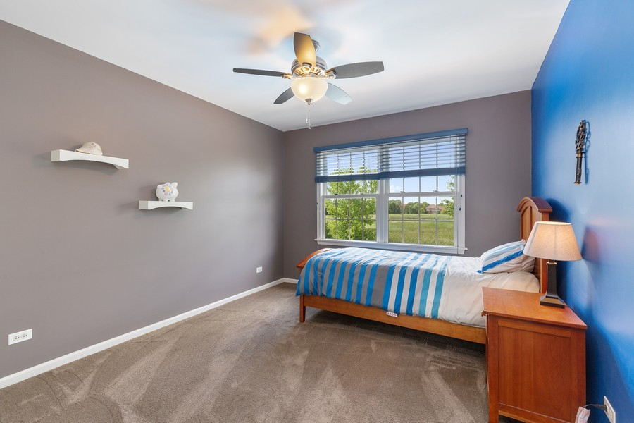 Real Estate Photography - 730 Foxglove Drive, Algonquin, IL, 60102 - 2nd Bedroom