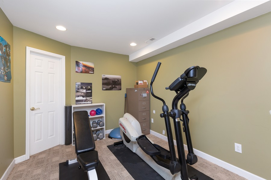 Real Estate Photography - 730 Foxglove Drive, Algonquin, IL, 60102 - Exercise Room