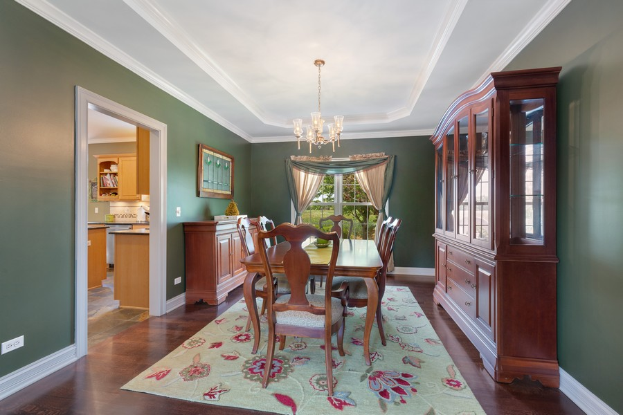 Real Estate Photography - 730 Foxglove Drive, Algonquin, IL, 60102 - Dining Room