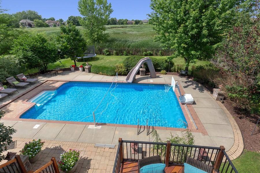 Real Estate Photography - 730 Foxglove Drive, Algonquin, IL, 60102 - Pool