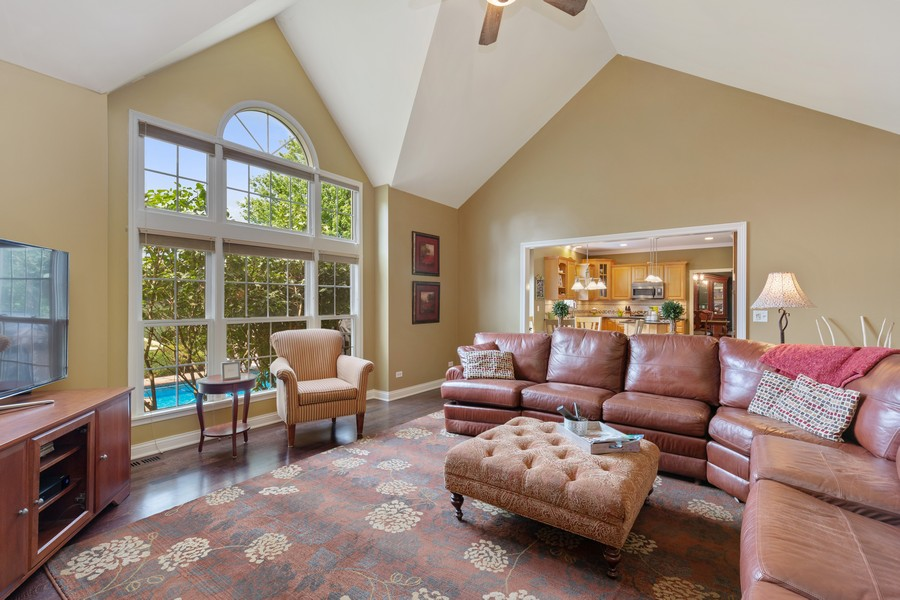 Real Estate Photography - 730 Foxglove Drive, Algonquin, IL, 60102 - Family Room