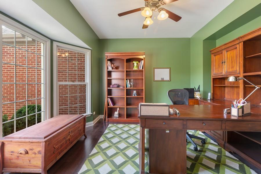 Real Estate Photography - 730 Foxglove Drive, Algonquin, IL, 60102 - Office