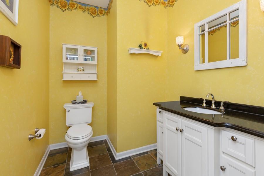 Real Estate Photography - 730 Foxglove Drive, Algonquin, IL, 60102 - Half Bath