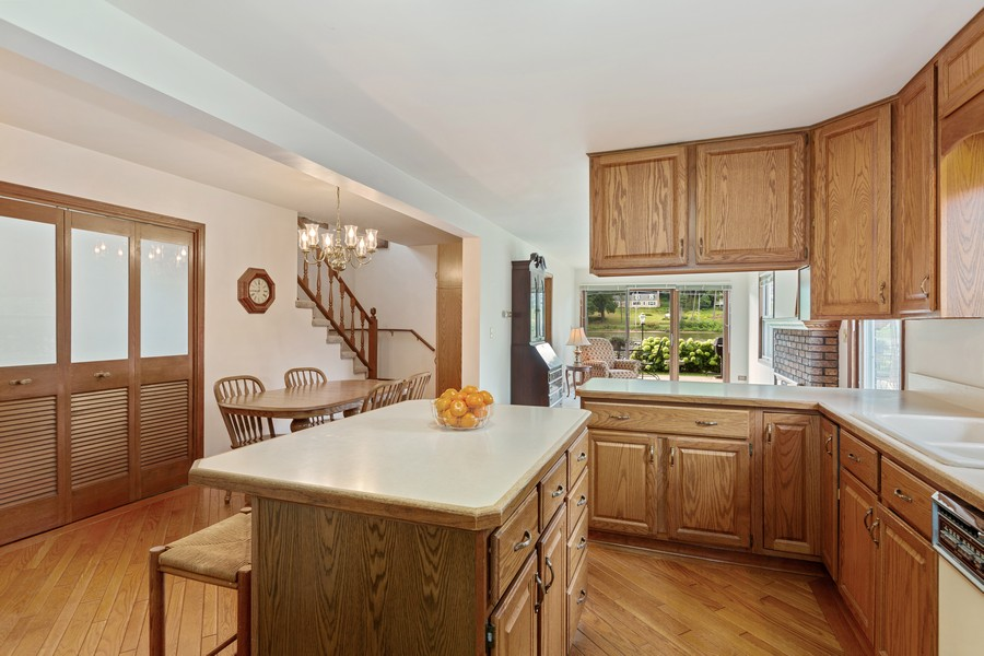 Real Estate Photography - 1469 Lowe Dr., Algonquin, IL, 60102 - Kitchen