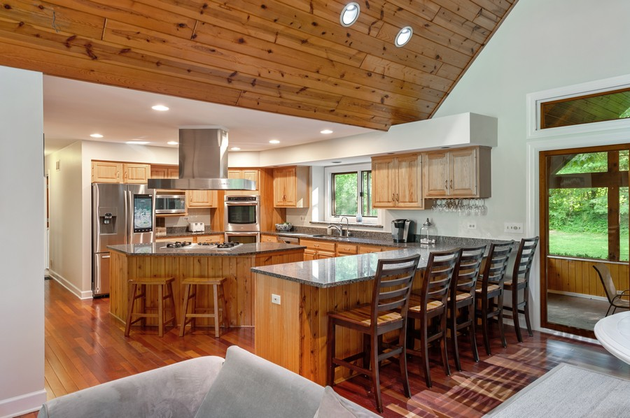 Real Estate Photography - 2415 Colby Drive, McHenry, IL, 60050 - Kitchen