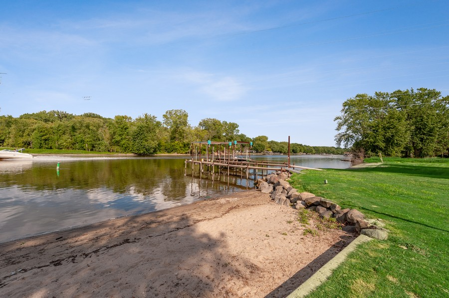 Real Estate Photography - 2415 Colby Drive, McHenry, IL, 60050 - Steps to the HOA Beach, Pier & Club House