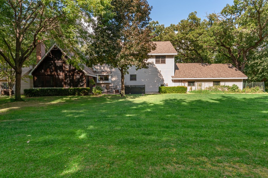 Real Estate Photography - 2415 Colby Drive, McHenry, IL, 60050 - Rear View