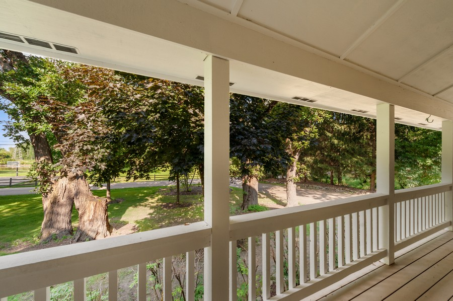 Real Estate Photography - 2415 Colby Drive, McHenry, IL, 60050 - Porch