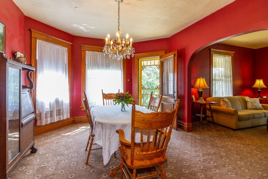 Real Estate Photography - 424 Fremont, Woodstock, IL, 60098 - Dining Room