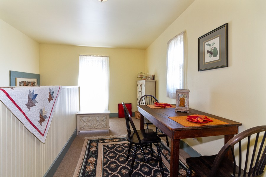 Real Estate Photography - 424 Fremont, Woodstock, IL, 60098 - Breakfast Nook