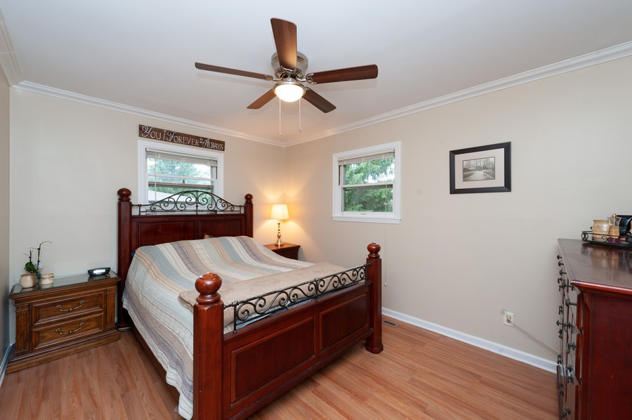 Real Estate Photography - 4705 Gregory St, Johnsburg, IL, 60051 - Master Bedroom
