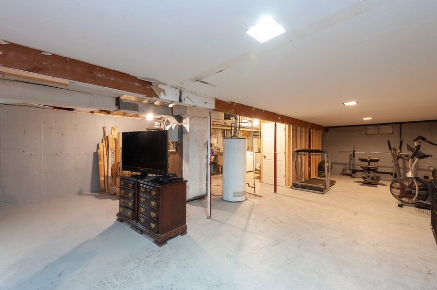 Real Estate Photography - 4705 Gregory St, Johnsburg, IL, 60051 - Basement