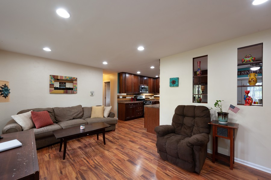 Real Estate Photography - 4705 Gregory St, Johnsburg, IL, 60051 - Family Room