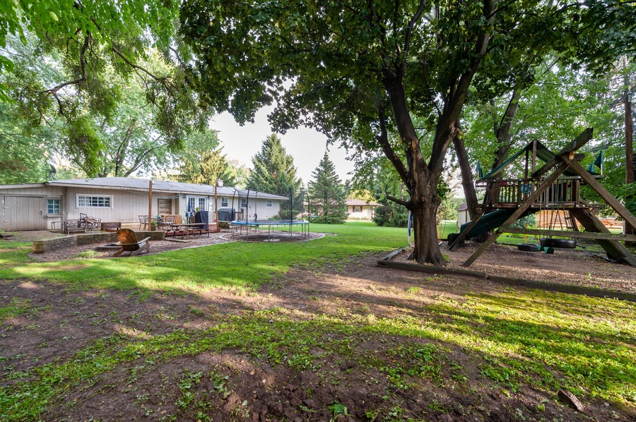 Real Estate Photography - 4705 Gregory St, Johnsburg, IL, 60051 - Rear View