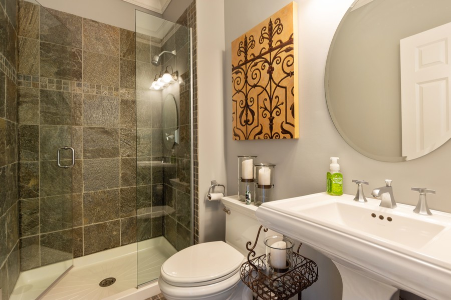 Real Estate Photography - 5610 Highland, Palatine, IL, 60067 - 3rd Bathroom