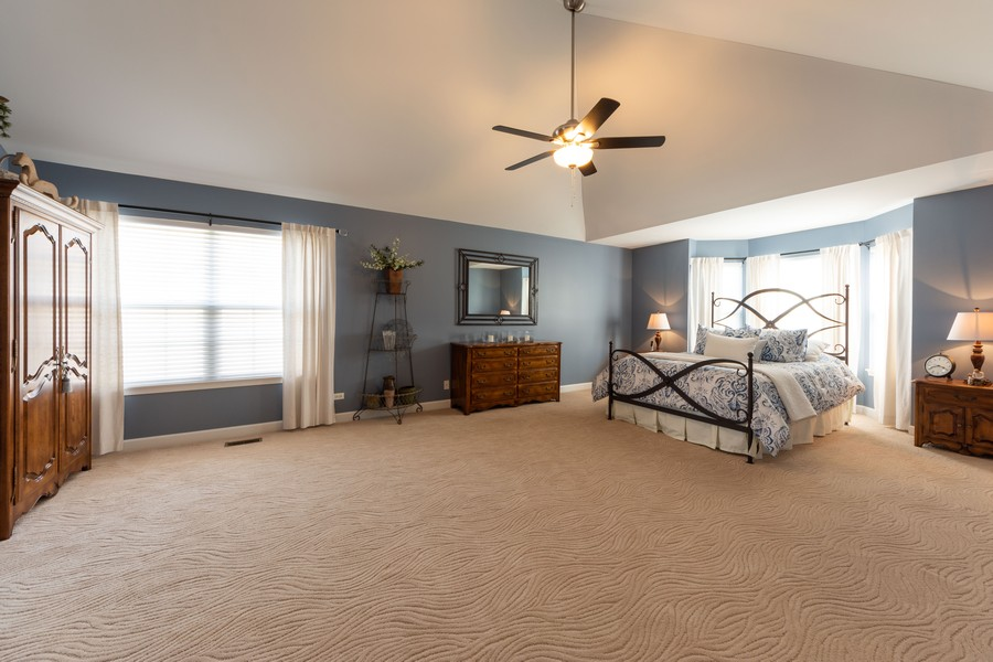 Real Estate Photography - 5610 Highland, Palatine, IL, 60067 - Master Bedroom
