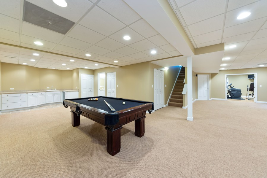 Real Estate Photography - 5610 Highland, Palatine, IL, 60067 - Basement