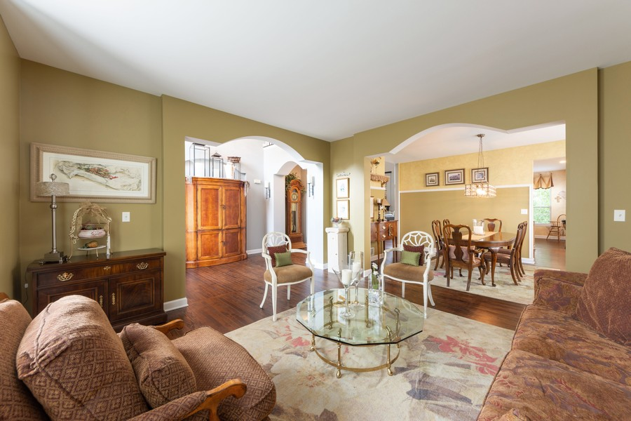 Real Estate Photography - 5610 Highland, Palatine, IL, 60067 - Living Room / Dining Room