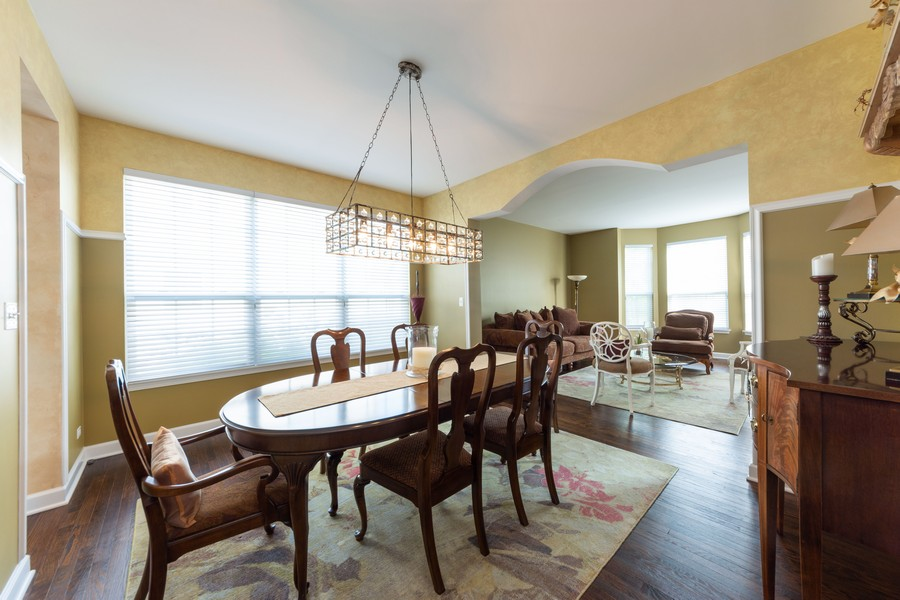 Real Estate Photography - 5610 Highland, Palatine, IL, 60067 - Living Room/Dining Room