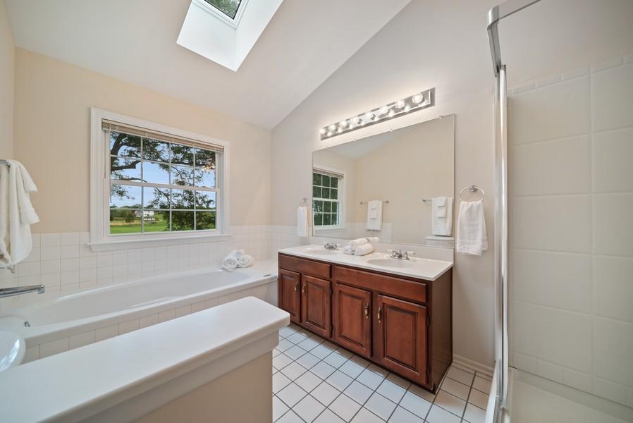 Real Estate Photography - 1764 Bradford Lane, Crystal Lake, IL, 60014 - Master Bathroom