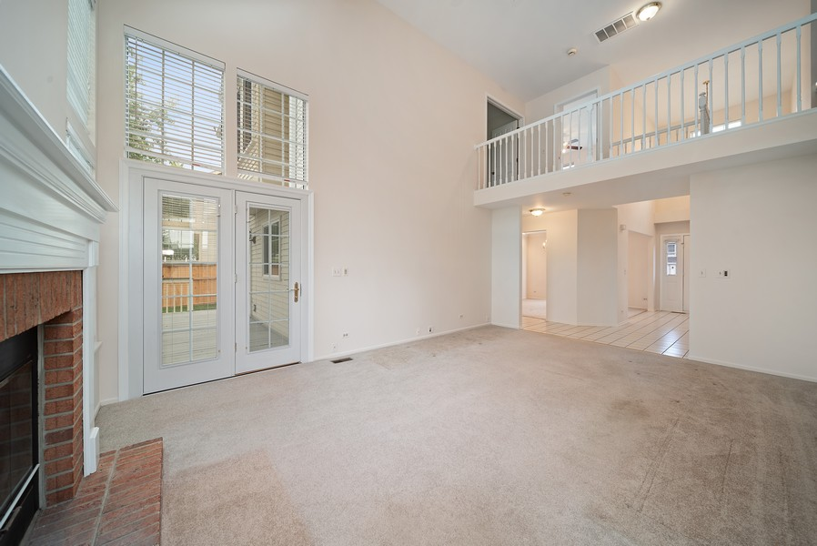 Real Estate Photography - 1764 Bradford Lane, Crystal Lake, IL, 60014 - Family Room