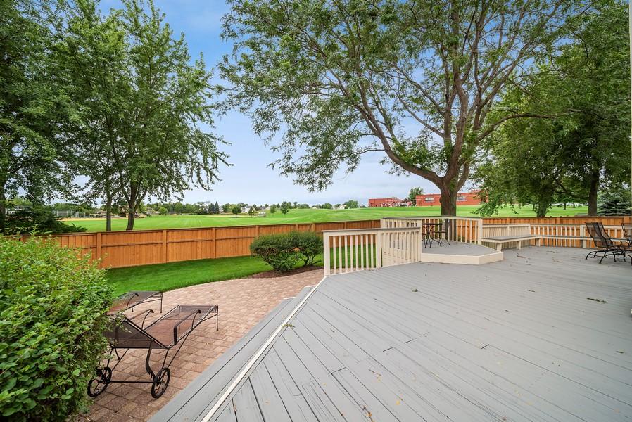 Real Estate Photography - 1764 Bradford Lane, Crystal Lake, IL, 60014 - Deck