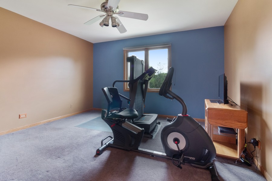 Real Estate Photography - 703 Silver Glen, McHenry, IL, 60050 - 4th Bedroom