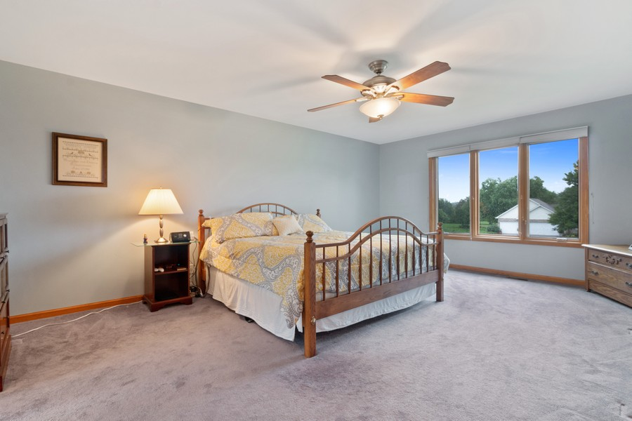 Real Estate Photography - 703 Silver Glen, McHenry, IL, 60050 - Master Bedroom