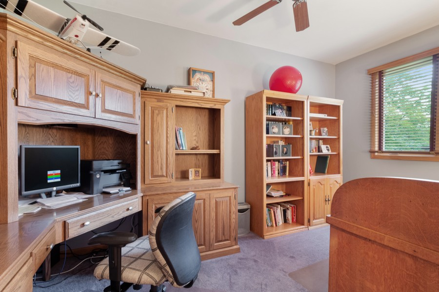 Real Estate Photography - 703 Silver Glen, McHenry, IL, 60050 - Office
