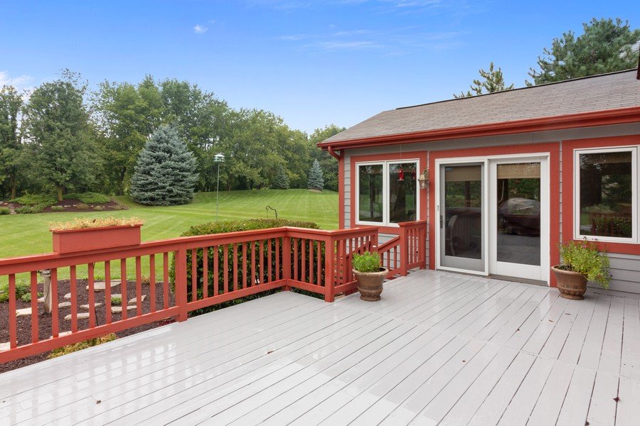 Real Estate Photography - 703 Silver Glen, McHenry, IL, 60050 - Deck