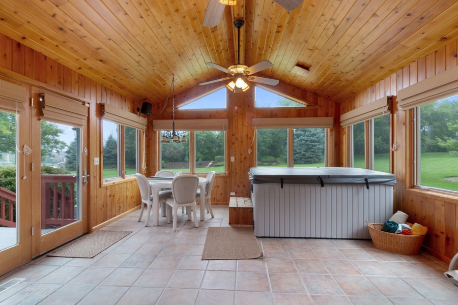 Real Estate Photography - 703 Silver Glen, McHenry, IL, 60050 - Sun Room