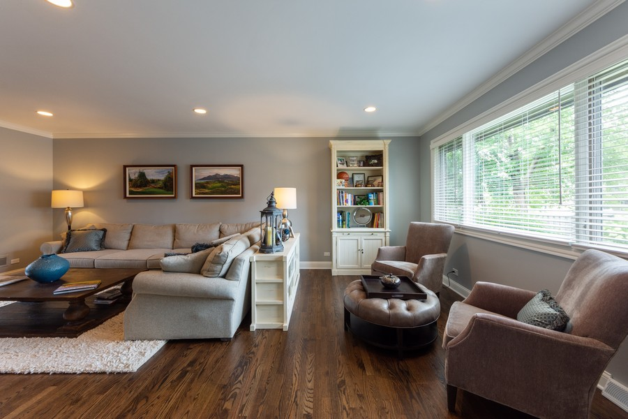 Real Estate Photography - 1611 N Douglas Ave, Arlington Heights, IL, 60004 - Living Room