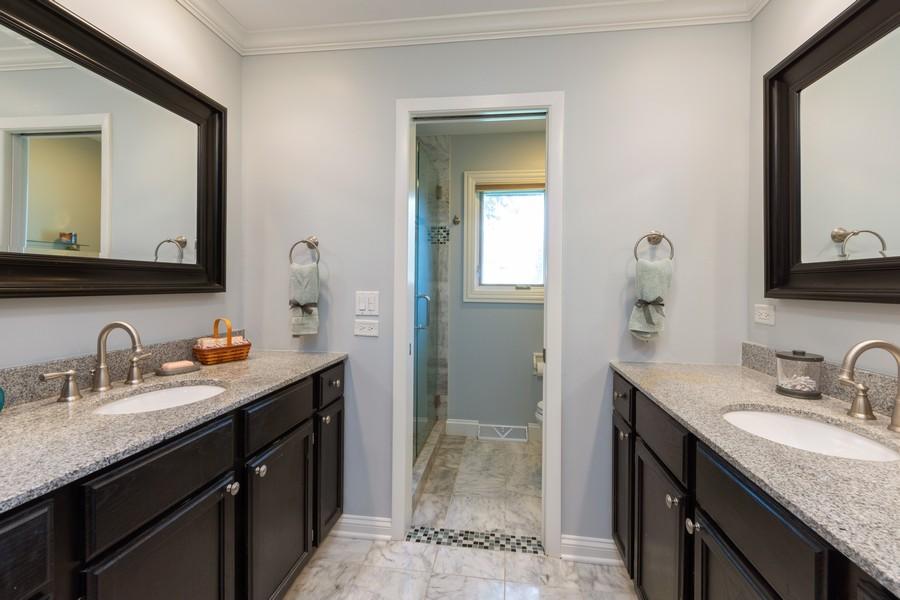 Real Estate Photography - 1611 N Douglas Ave, Arlington Heights, IL, 60004 - Master Bathroom