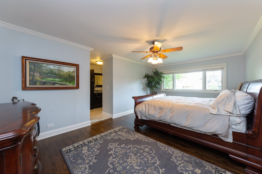 Real Estate Photography - 1611 N Douglas Ave, Arlington Heights, IL, 60004 - Master Bedroom