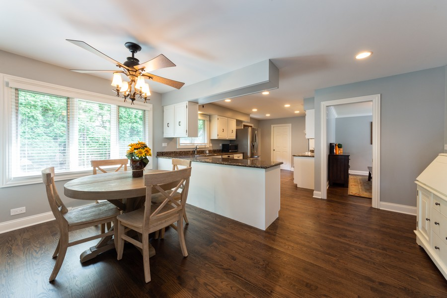 Real Estate Photography - 1611 N Douglas Ave, Arlington Heights, IL, 60004 - Kitchen / Breakfast Room